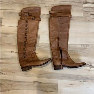 Used Sam Edelman boots over the knee boots -  6.5